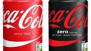 Coca-Cola chce wprowadzić w Europie nowe, czytelniejsze i ujednolicone opakowania puszek