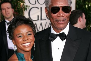 E'Dena Hines, Morgan Freeman
