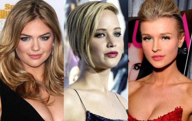 Kate Upton, Jennifer Lawrence i Joanna Krupa