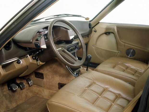 Wnętrze Citroena CX