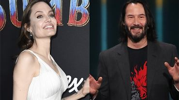 Angelina Jolie i Keanu Reeves są parą?