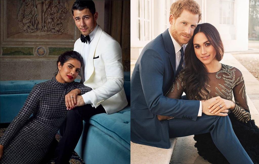 Priyanka Chopra, Nick Jonas, Meghan Markle, książę Harry