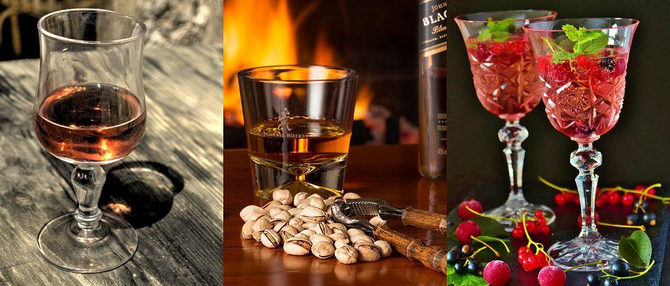 Kieliszki do: koniaku, whisky, prosecco