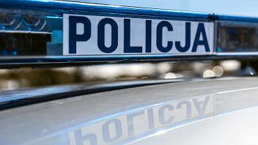 Policyjny radiowóz [zdjęcie ilustracyjne]