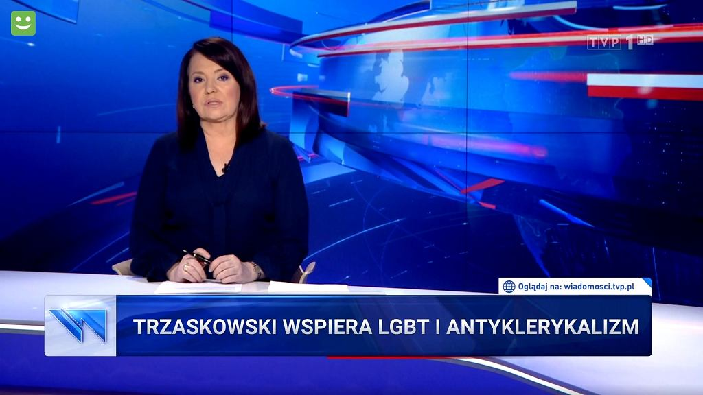 Kolejny atak 'Wiadomości' na Trzaskowskiego (fot. TVP)