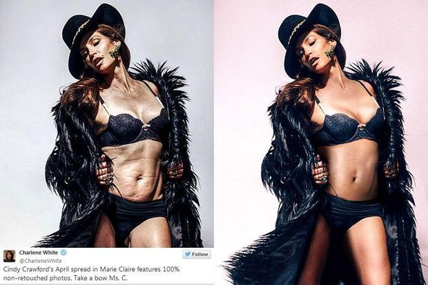 Zdjęcie numer 1 w galerii - Tak wygląda Beyonce bez Photoshopa. Ale najbardziej graficy przesadzili przy zdjęciach Kingi Rusin