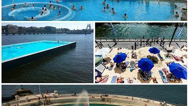 Lato w mieście dostarcza wielu niezapomnianych wrażeń, ale potrafi też nieźle dopiec podczas wakacyjnych upałów. Poczuj się jak mieszkaniec okolicy i wybierz się na miejską plażę albo kąpielisko. W wielu europejskich miastach znajdziecie doskonałe warunki zarówno do pływania, często w przepięknych basenach z długą historią, jak i do popluskania na kąpielisku z widokiem na miasto.Zobaczcie zdjęcia najpiękniejszych i najciekawszych kąpielisk europejskich miast.