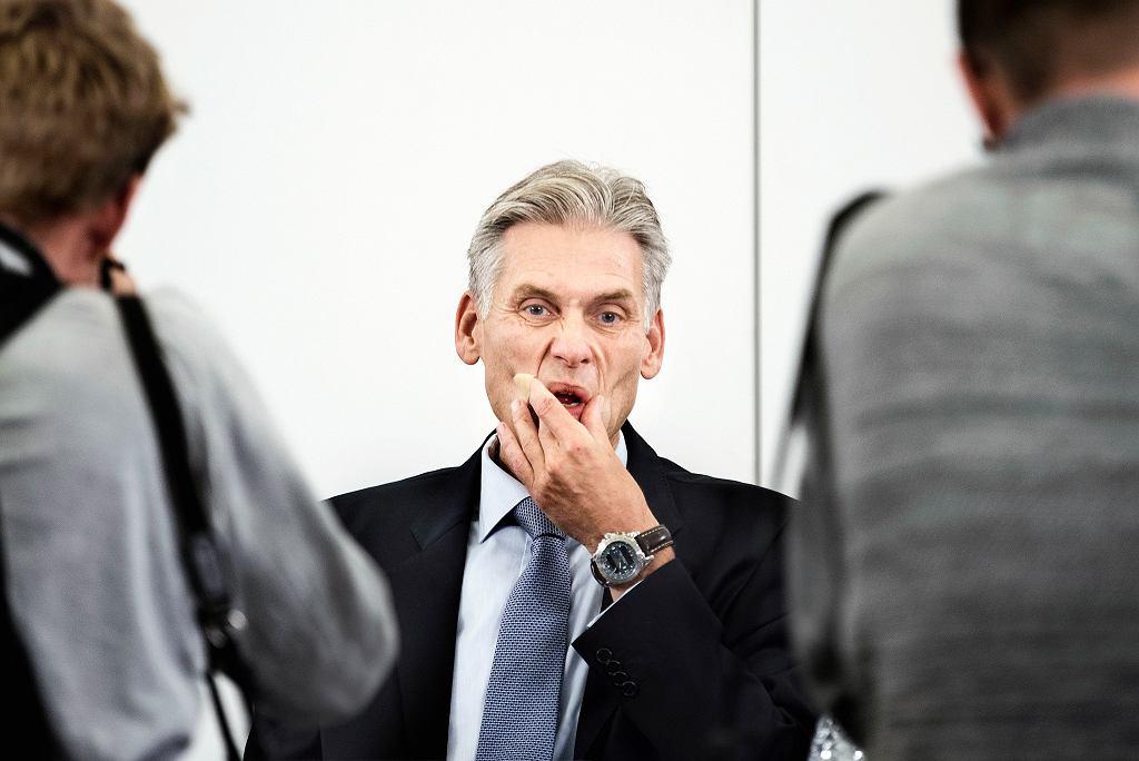 Szef Danske Bank Thomas F. Borgen.
