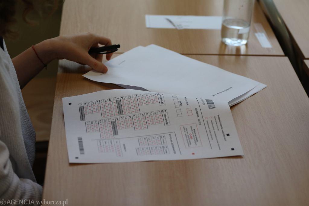 Egzamin ósmoklasisty data