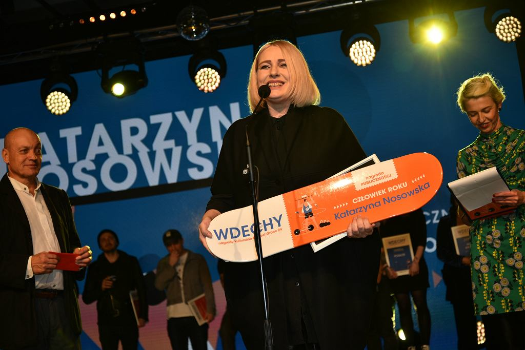 Katarzyna Nosowska Wdechy 2017 / Agencja Gazeta
