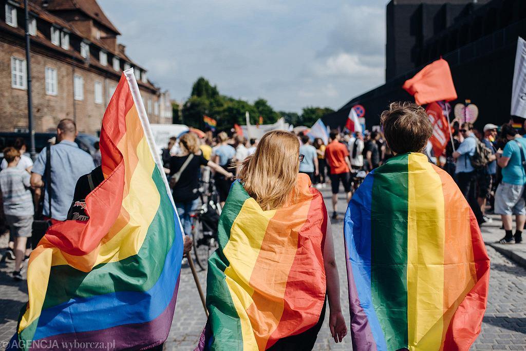 26.05.2018, Gdańsk, IV Trójmiejski Marsz Równości.