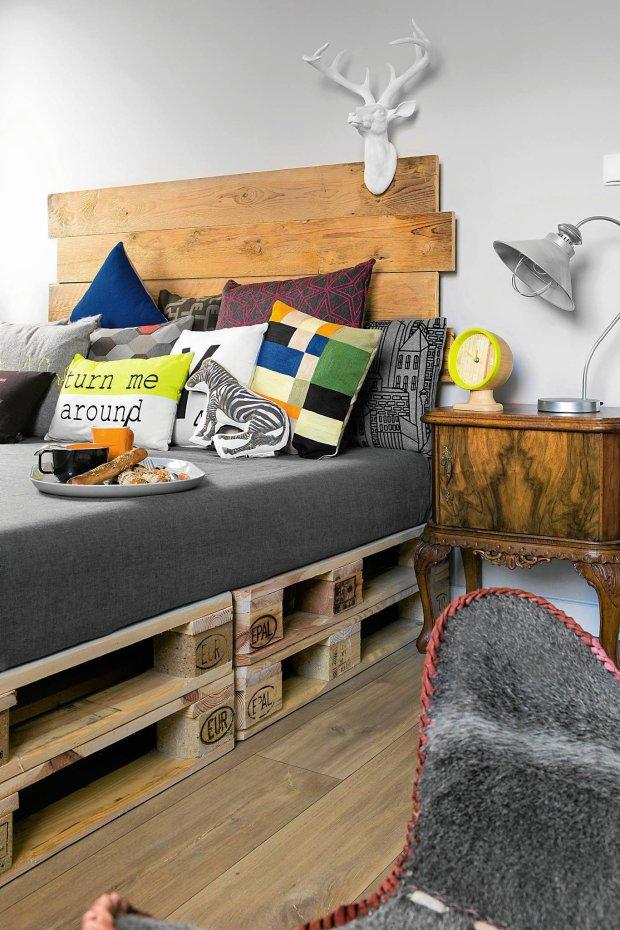 mieszkanie, aranżacje wnętrz, sypialnia