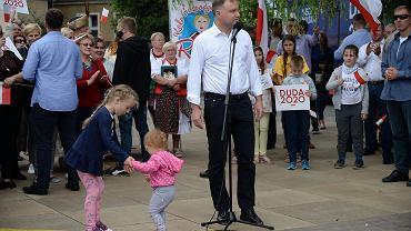 Wiec wyborczy Andrzeja Dudy w Drawsku Pomorskim