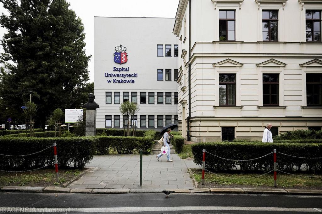 Jednym z ośrodków, w którym przeprowadzano do tej pory zabiegi trombektomii mechanicznej był Szpital Uniwersytecki w Krakowie