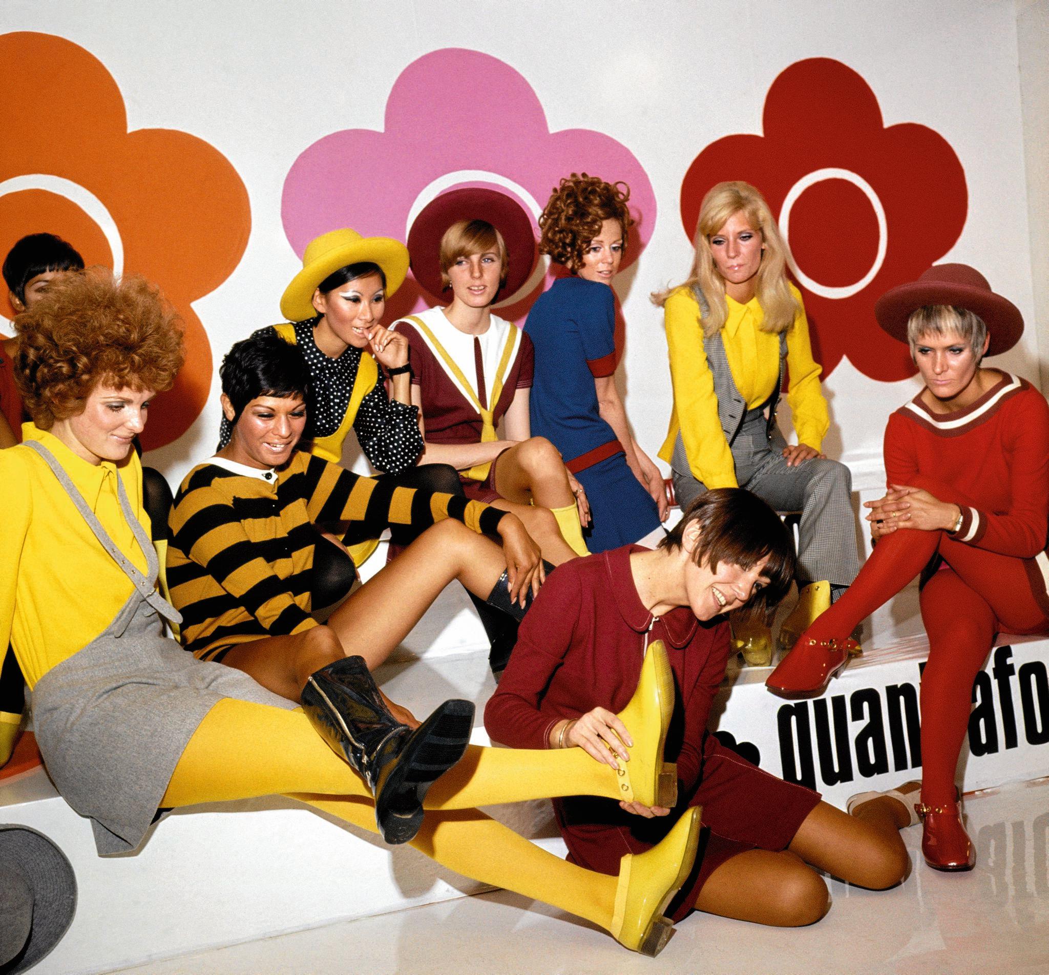Mary Quant jest tym dla brytyjskiej mody lat 60., czym Beatlesi ...