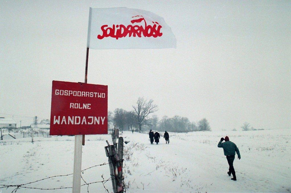 1994 rok. Protest w PGR Wandajny