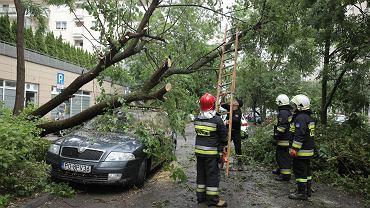 Skutki burzy w Poznaniu