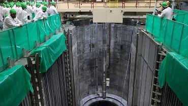Białoruś. Elektrownia atomowa w Ostrowcu.