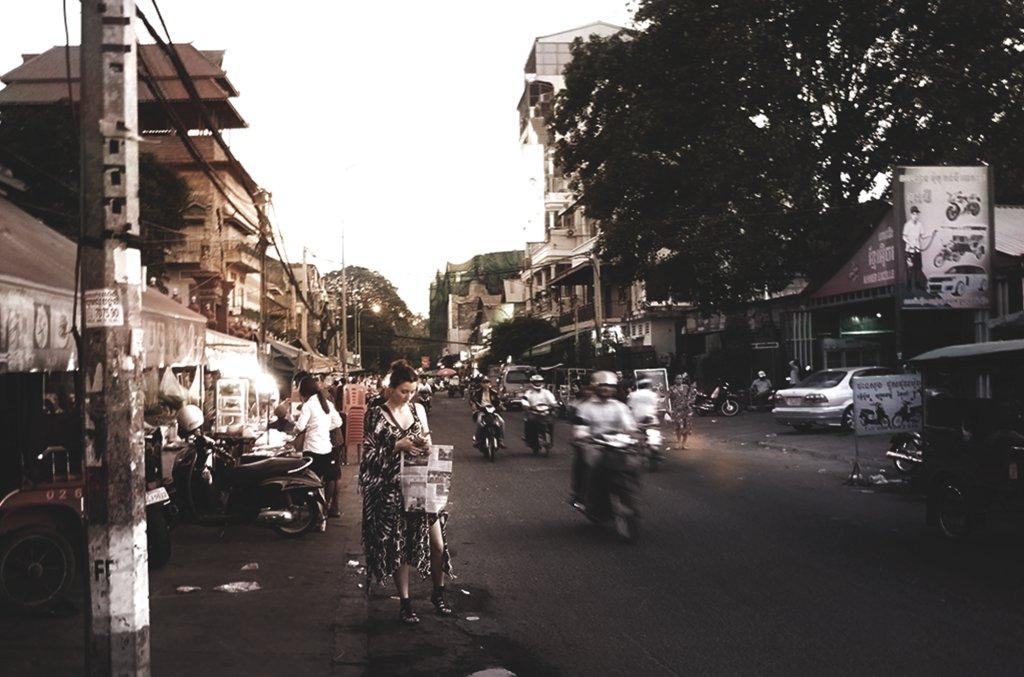 W drodze, Phnom Penh, Kambodża (fot. Daz Wilde)