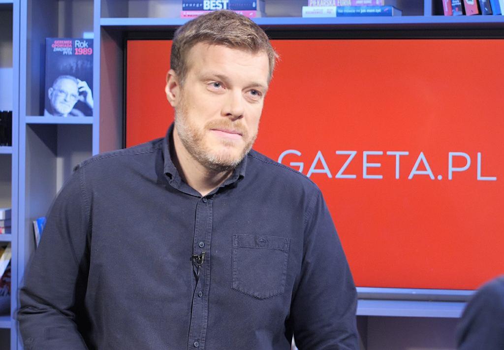 Adrian Zandberg w porannej rozmowie w Gazeta.pl