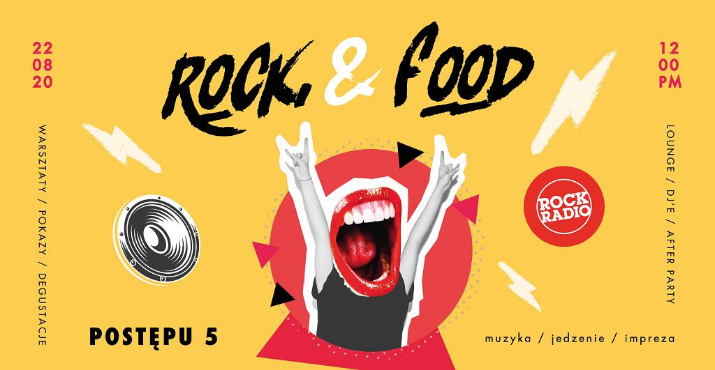 Rock and food