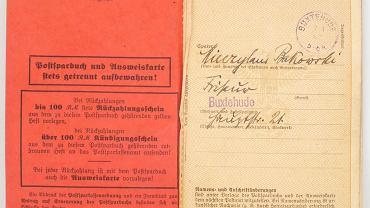 Pamiątki po Mieczysławie Bąkowskim/ Arolsen Archives