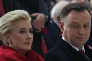Agata Duda i Andrzej Duda
