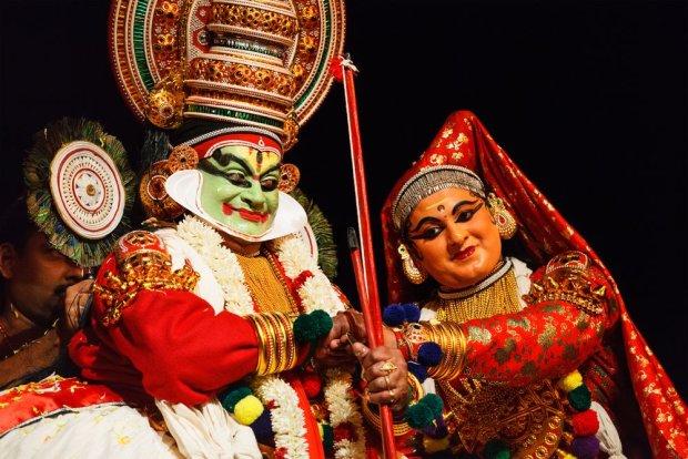 Khatakali - tradycyjny teatr Indii