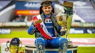 Lipiec 2021 r. Bartosz Zmarzlik indywidualnym mistrzem Polski na żużlu