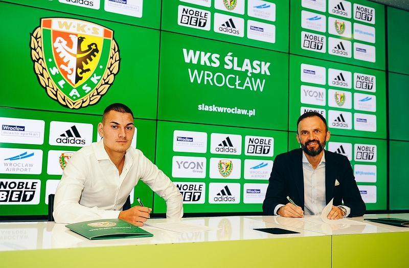 Marcel Zylla zawodnikiem Śląska Wrocław