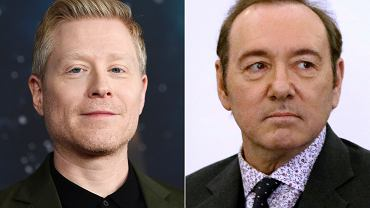 Anthony Rapp (z lewej) i Kevin Spacey