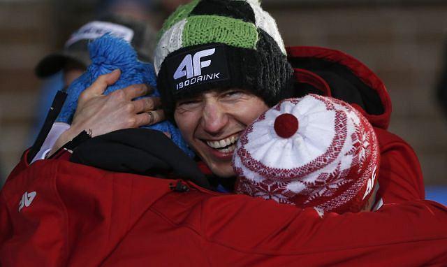 Polscy skoczkowie - brązowi medaliści mistrzostw świata.