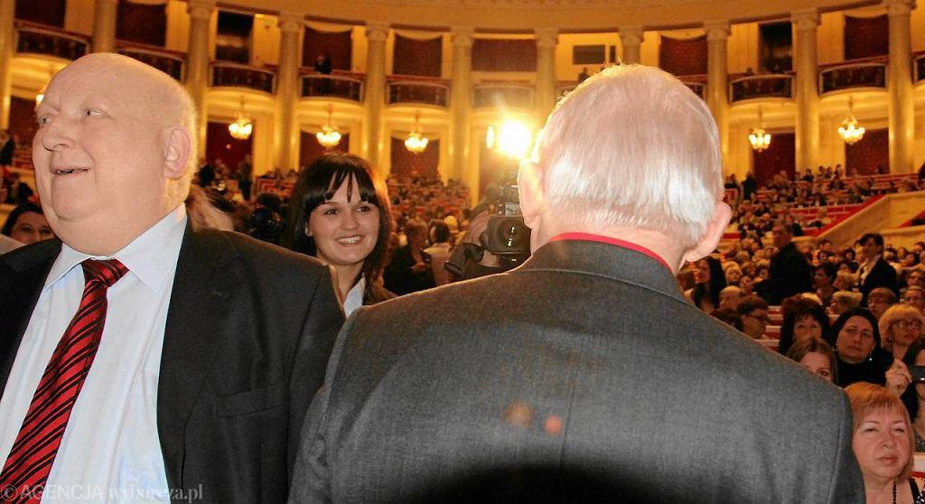 Józef Oleksy i Leszek Miller