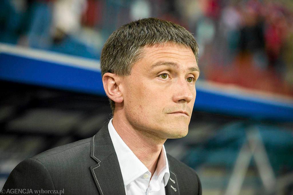 Mariusz Rumak - trener wrocławian