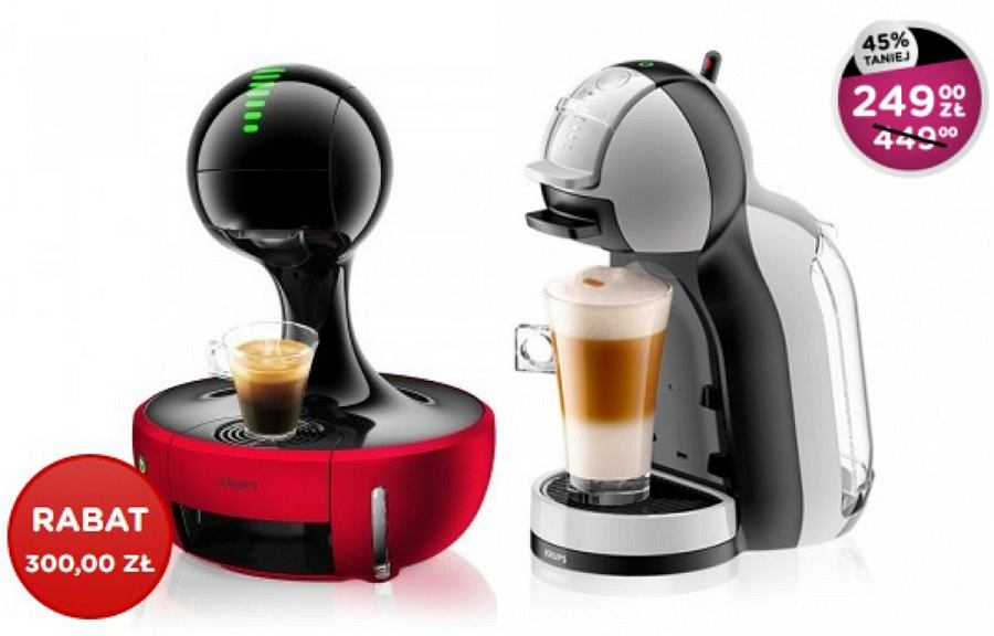Promocja na ekspresy do kawy