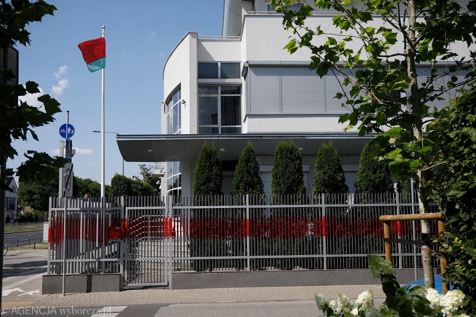 Ambasada Republiki Białorusi. Warszawa, 11 sierpnia 2020