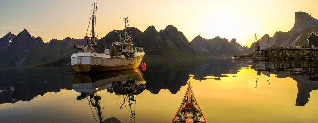 Kjerkfjorden, Norwegia