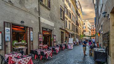 Włoska restauracja - zdjęcie ilustracyjne