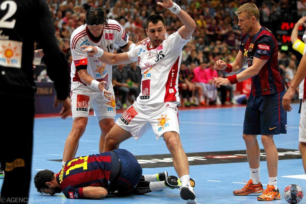 Kolonia, Niemcy. Final Four Velux EHF Ligi Mistrzów. FC Barcelona - MKB-MVM Veszprem (28:23). Barcelona wygrała Ligę Mistrzów