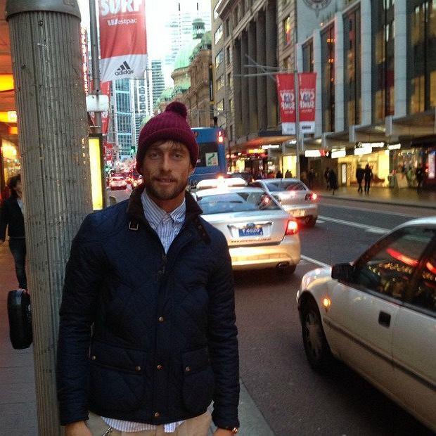 Claudio Marchisio sam w Sydney