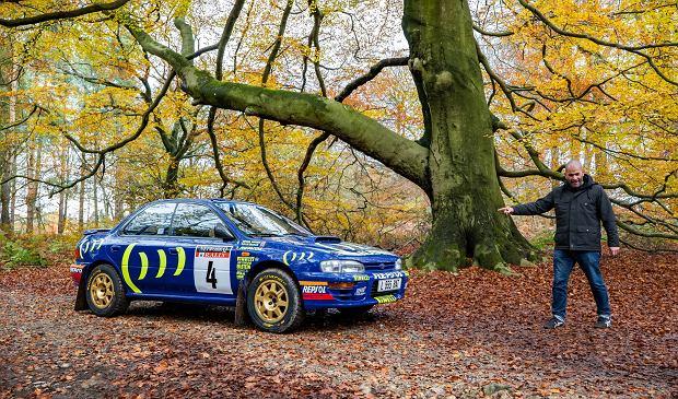 Chris Harris i Subaru Impreza GT