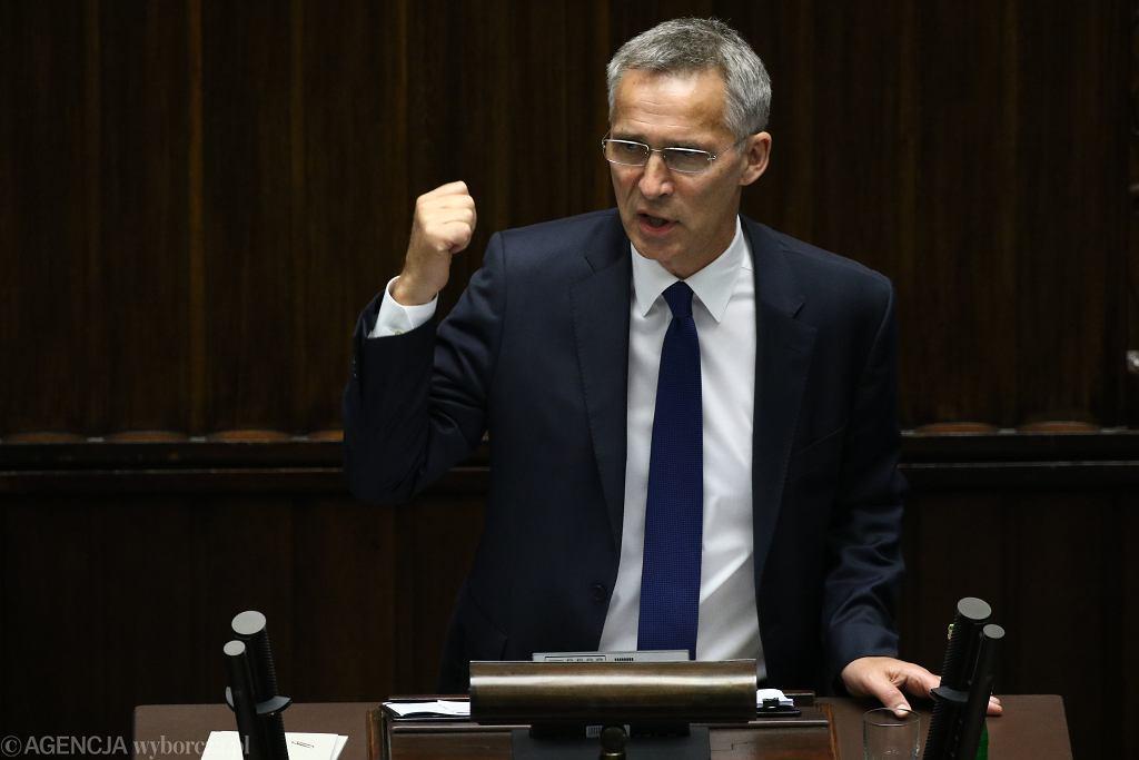 ;Czwarty dzien Zgromadzenia Parlamentarnego NATO w Warszawie