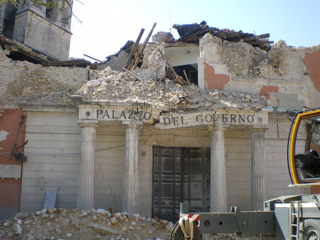 Trzęsienie ziemi we Włoszech (zdjęcie ilustracyjne)