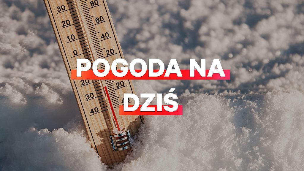 Prognoza pogody na dziś - czwartek 10 stycznia. IMGW ostrzega przed mrozem