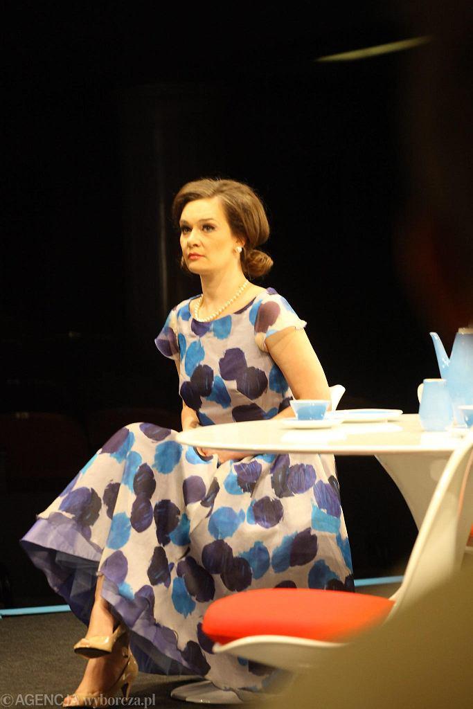 Maria Seweryn w spektaklu 'Mayday' / AGATA GRZYBOWSKA