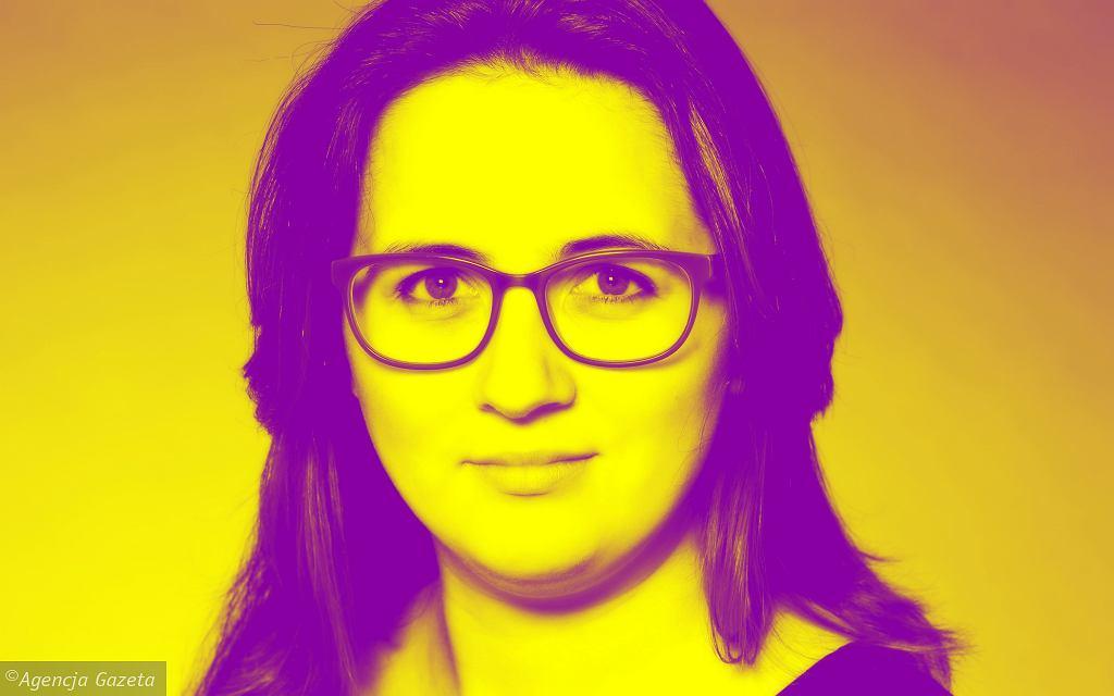 Zuzanna Piechowicz, zdjęcie 'okładkowe' podcastu tokfm.pl 'Dobra praca'