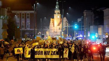 Strajk Kobiet w Olsztynie, 30 października 2020