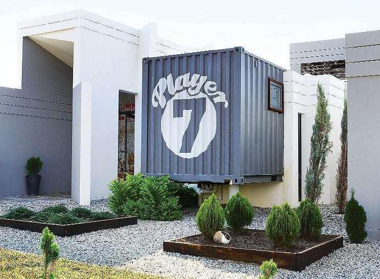 Dom w kontenerze w Pretorii