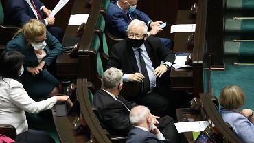 Posłowie PiS w Sejmie.