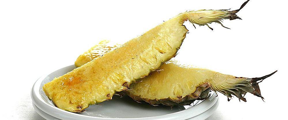 Pieczony ananas z tequilą najlepszy